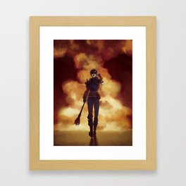 Hawke Like a Boss Framed Art Print