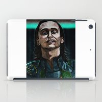loki iPad Cases featuring Loki by OnaVonVerdoux