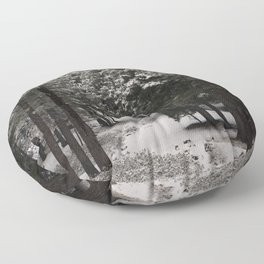 Carol Highsmith - Snow Covered Trees Floor Pillow