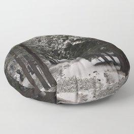 Carol Highsmith - Snow Covered Trees Floor Pillow