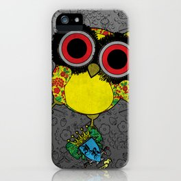 Printed Owl iPhone Case