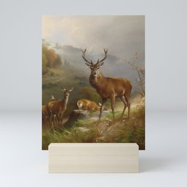 bezeichnet und datiert Anton Schmitz Düssd Mini Art Print
