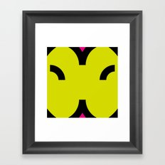 face 6 Framed Art Print