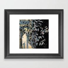 Gaze Framed Art Print