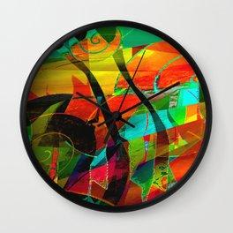 Base Layer Wall Clock