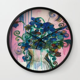 Fluer Wall Clock