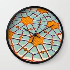 Retro texture Wall Clock