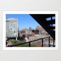 Cityscape II Art Print
