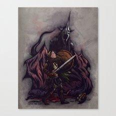 I Am No Man - An Ode to Éowyn Canvas Print
