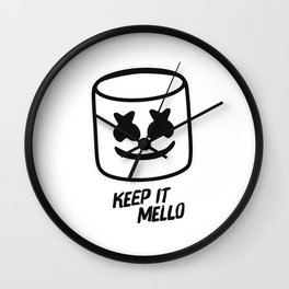 Marshmello - Keep it Mello Wall Clock