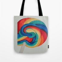 candy Tote Bags featuring Candy  by ArtSchool
