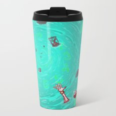 Drown in the now Metal Travel Mug