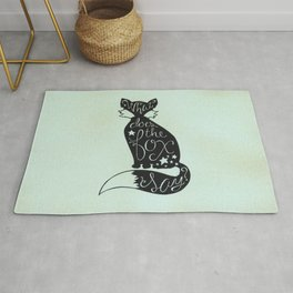 What Does The Fox Say? Rug