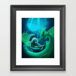 Siren's Song Framed Art Print