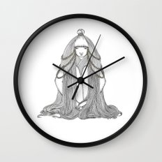 No Waves Wall Clock