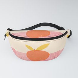 Abstraction_PEACH_LOVE_PINK_DRAWING_POP_ART_001A Fanny Pack