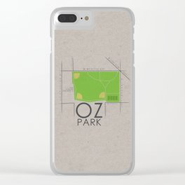 Chicago - Oz Park Clear iPhone Case