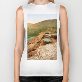 Pulpit Terraces Mountains Biker Tank