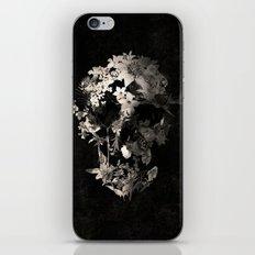 Spring Skull Monochrome iPhone & iPod Skin