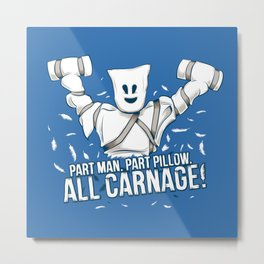 All Carnage! Metal Print