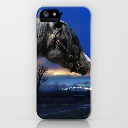 Welsh Pony Stallion iPhone Case