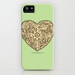 The Power of Love iPhone Case