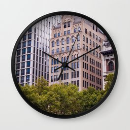 The City and the History Wall Clock