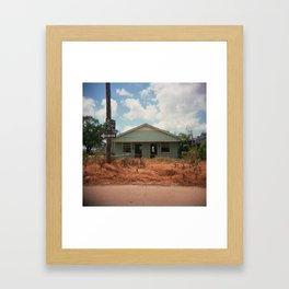 We Cut Framed Art Print