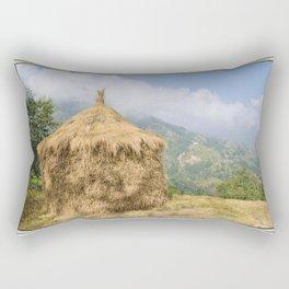 NEPALI HAYSTACK  Rectangular Pillow