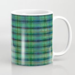 Forest Straw Plaid On Frozen Lake Coffee Mug