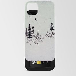 Geo Forest iPhone Card Case