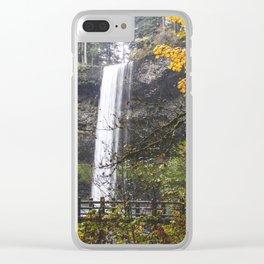 Fall Magic Clear iPhone Case