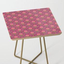 Spring Roses Pattern ~ LOVED UP VAR Side Table