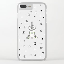 Shake Shack It Off Clear iPhone Case