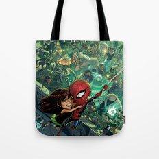 Lil' Spidey Tote Bag