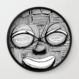 '恐怖核心與小鳥 Scarecore and Bird' Cover Illustration 2 Wall Clock