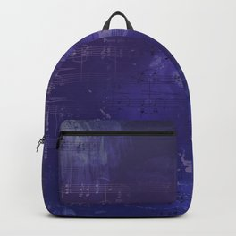 Sheet Music - Mixed Media Partiture #1 Backpack