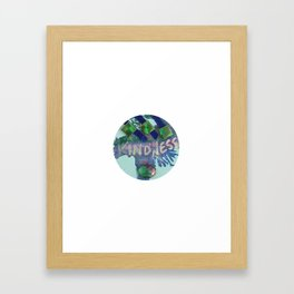 Kindness Charm Framed Art Print