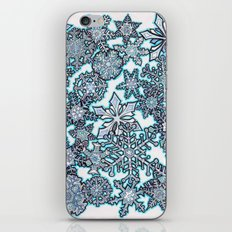 Gentle Snowstorm iPhone & iPod Skin