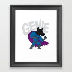 Genie! Framed Art Print