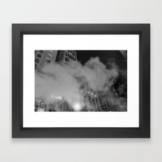Steam Framed Art Print