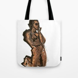 Thoughts That Require Nudity Tote Bag