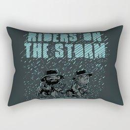 Riders on the Storm Rectangular Pillow