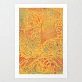 School of Carps Art Print