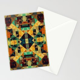 Playful Geometry 005 Stationery Cards