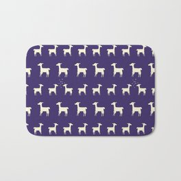 ALPACAS IN LOVE Bath Mat