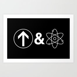 Up&Atom Art Print