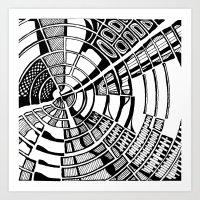 Post Modern Graphic Print Art Print