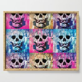 Skull Pop Serving Tray