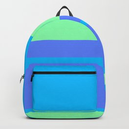 Retro Blue Surf Backpack